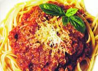 Špagety s Eggcheese